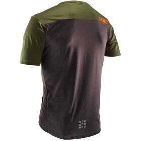Leatt DBX 1.0 Maillot Manches courtes Homme, forest